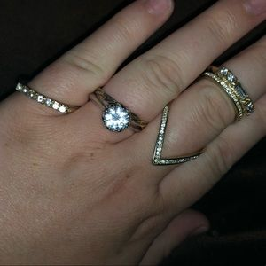 Super Cute Stacking Rings (set of 4)